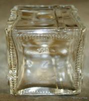 Vintage Scottish present or gift shaped glass Decanter