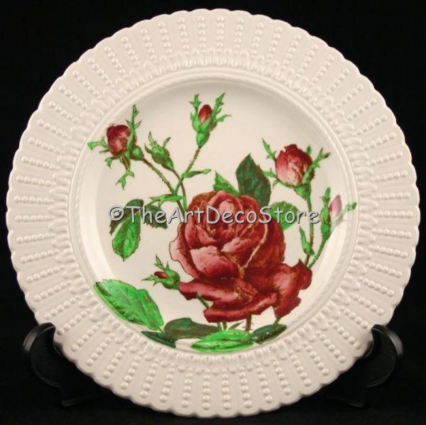 British antique 1910 Cauldon Pottery Art Nouveau plate