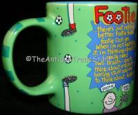 Novelty mug Wolds Greatest Footie by Richard Skipworth