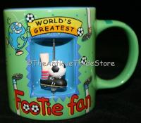 Novelty mug Wolds Greatest Footie by Richard Skipworth