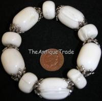 Vintage costume Jewelry glass Bracelet sku4z