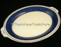 30s Grindley porcelain Art Deco bread and butter dish