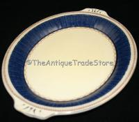 Click here to Enlarge30s Grindley porcelain Art Deco bread and butter dish