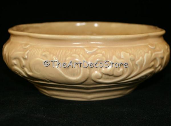 Antique Art Deco 30s Burleigh Ware ceramic fruit dish