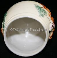 Antique PPC England ceramic Fox Hunt hand painted Dish
