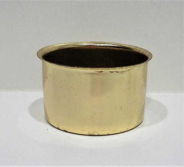 Medium Base Hurricane Cup/Holder Restoration Part-Brass