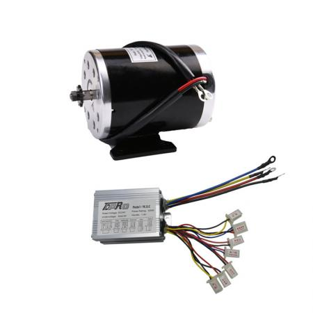 24v 500w brush motor speed controller foot pedal electric for 24v dc motor driver