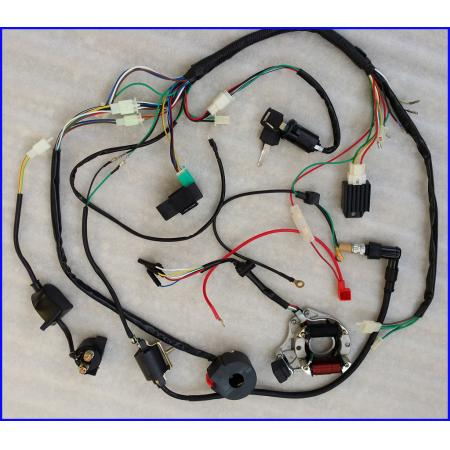 wiring diagram chinese atv images chinese atv wiring harness chinese alarm 110cc atv wiring diagram w automotive