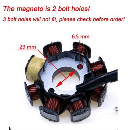 ELECTRICS 250 cc Zongshen Loncin stator mago coil kill