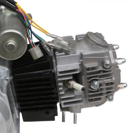 125cc 4 stroke semi auto reverse engine motor atv quad. Black Bedroom Furniture Sets. Home Design Ideas