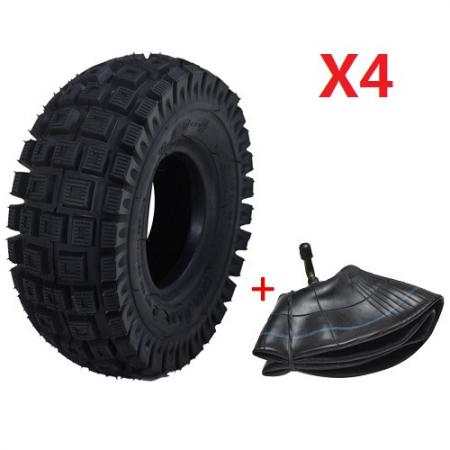 4 set tyre tire 260x85 tube for trolley electric. Black Bedroom Furniture Sets. Home Design Ideas