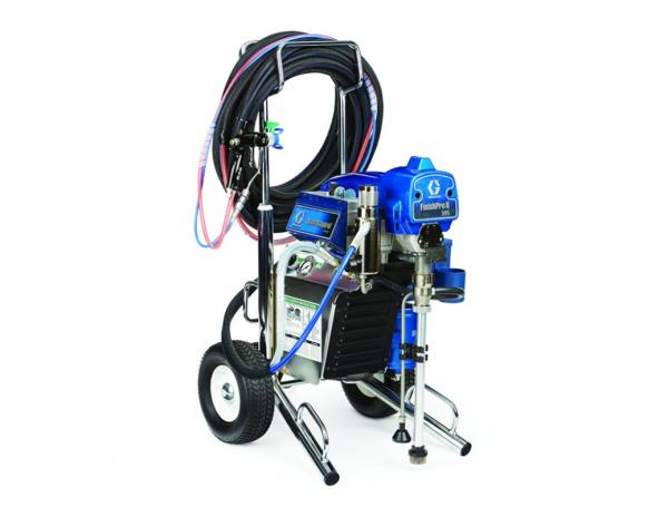 Graco finishpro ii 595 air assisted airless paint sprayer for Air or airless paint sprayer