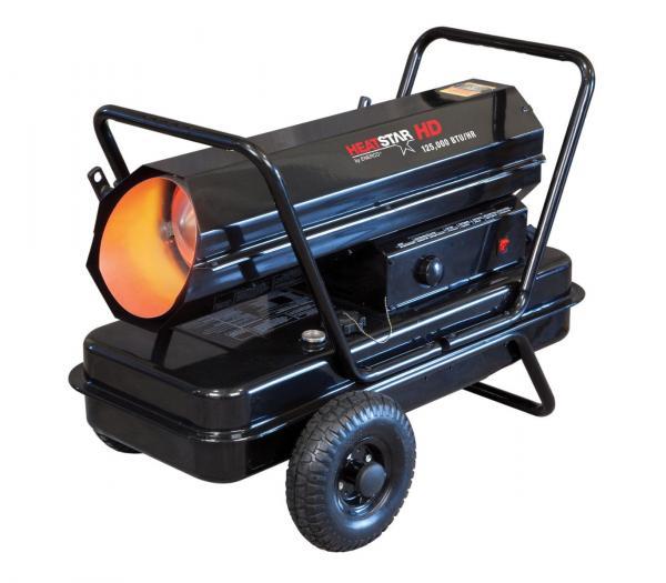 Heatstar 125 000 Btu Forced Air Kerosene Heater Hs125kt