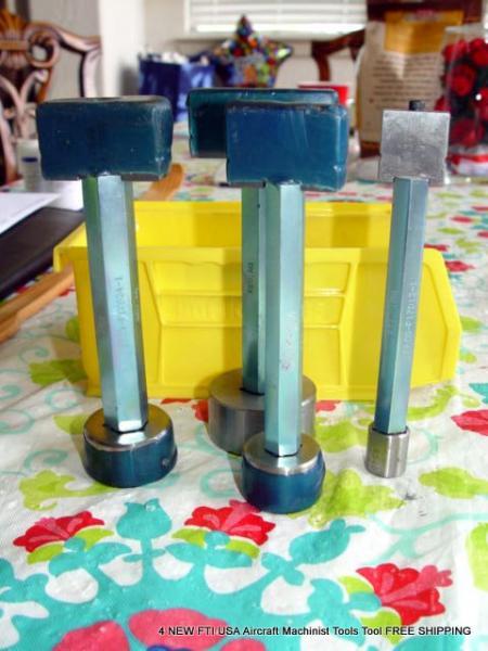 4 NEW FTI USA Aircraft Machinist Tools Tool FREE SHIPPING | eBay