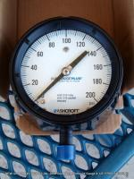 ashcroft pressure gauge Instrument 45-1279-SS-04L-100# Process Stainless