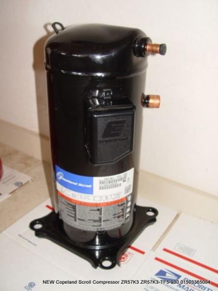 new copeland scroll compressor zr57k3 zr57k3 tf5 930