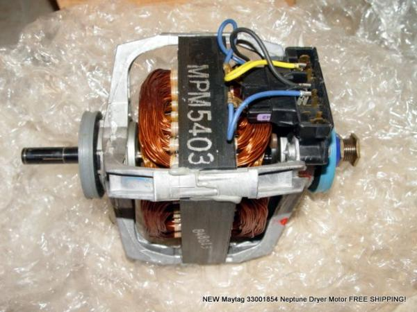 New maytag 33001854 neptune dryer motor free shipping ebay for Ebay motors shipping company