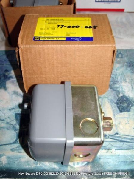 square d pressure switch 9013 manual