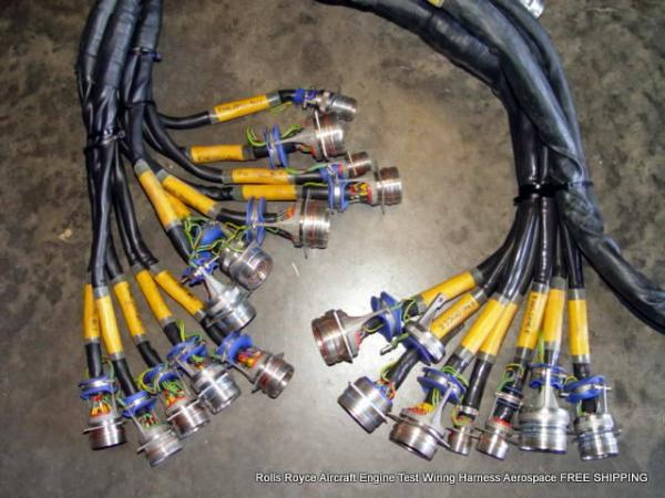 Rolls Royce Aircraft Engine Test Wiring Harness Aerospace