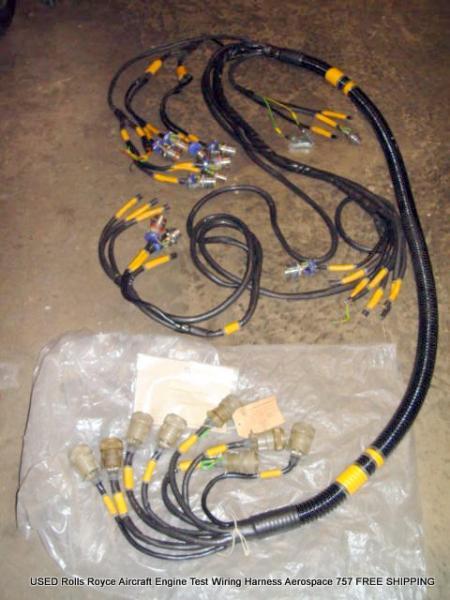 aircraft engine wiring aircraft intercom wiring diagram used rolls royce aircraft engine test wiring harness ... #4