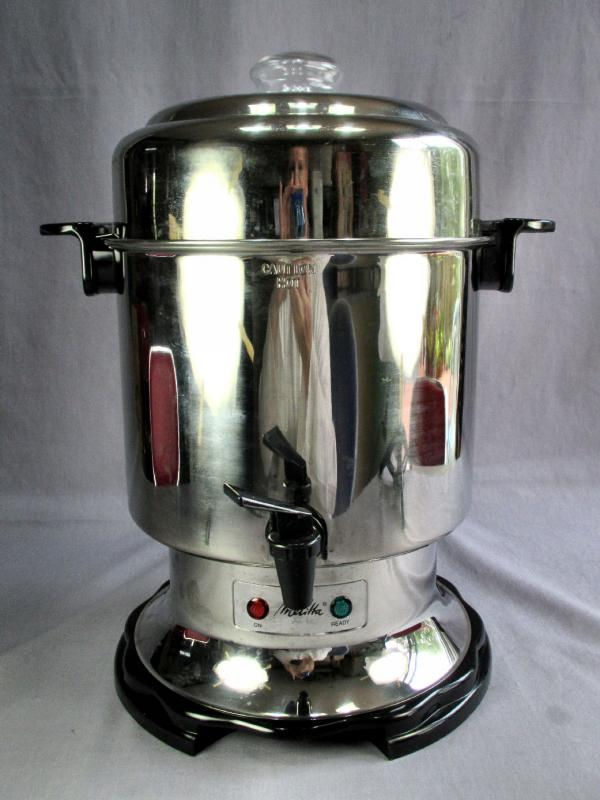 Vtg Melitta 45 Cup Stainless Steel Commercial Coffee