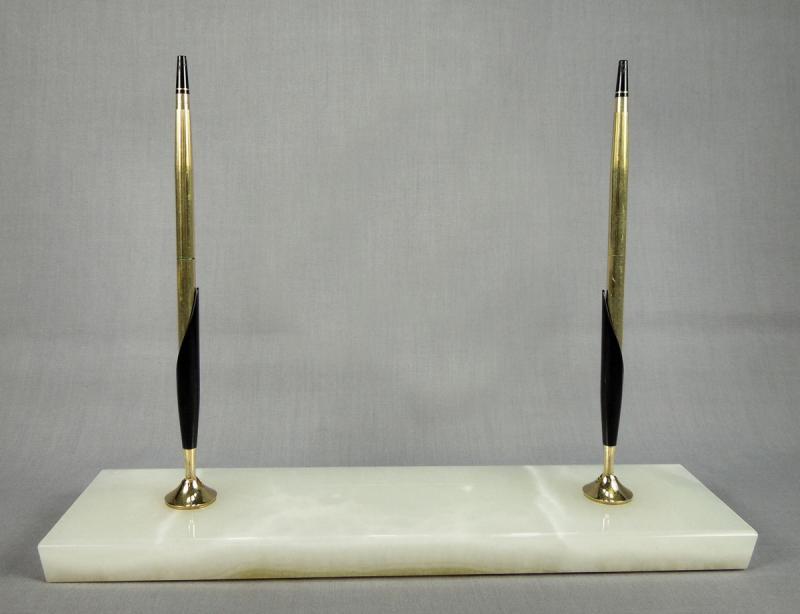Vtg Cross 12k Gold Filled Executive Pen Pencil Desk Set W