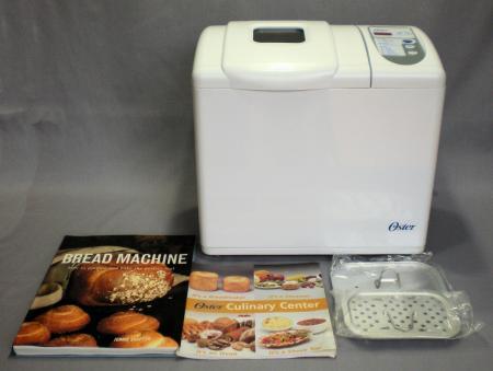 oster bread machine recipe book