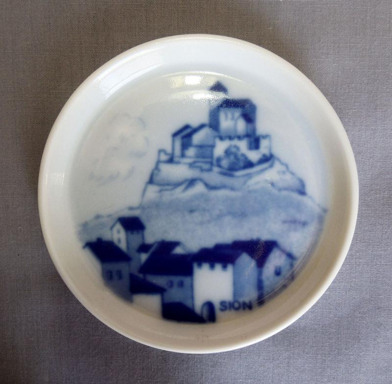 Hand Painted Porcelain No Country Of Origin