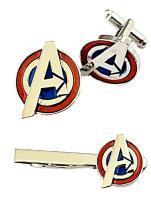Mainstreet 247 Star Trek Original Command Logo Metal Tie Clip with Enamel Finish