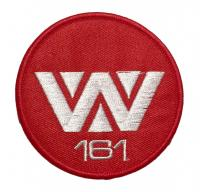 "Alien Movie Red W 161 Weyland Yutani 3/"" Diameter Embroidered Patch"