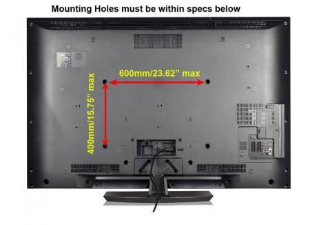 Dual Arm Articulating Lcd Led Plasma Tv Wall Mount Bracket
