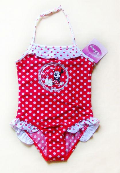 Disney Minnie Mouse Girl Swimsuit Tankini Swimwear 2 6T