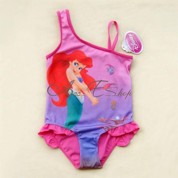 Girl Kids Princess Ariel Mermaid Swimsuit Swimming Costume Tankini