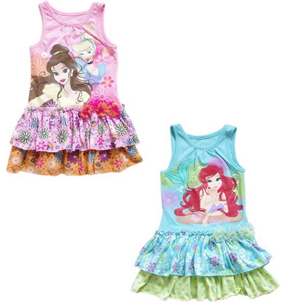 Girl Baby Princess Fairy Summer Top Dress Sz 2 7 Y Kid Party Tutu Skirt Clothes