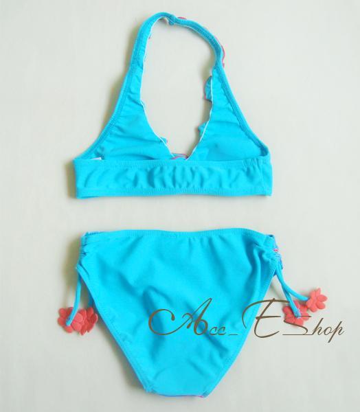 Girls Kids Princess Ariel Mermaid Swimsuit Swimming Costume Tankini Bikini 2 8Y