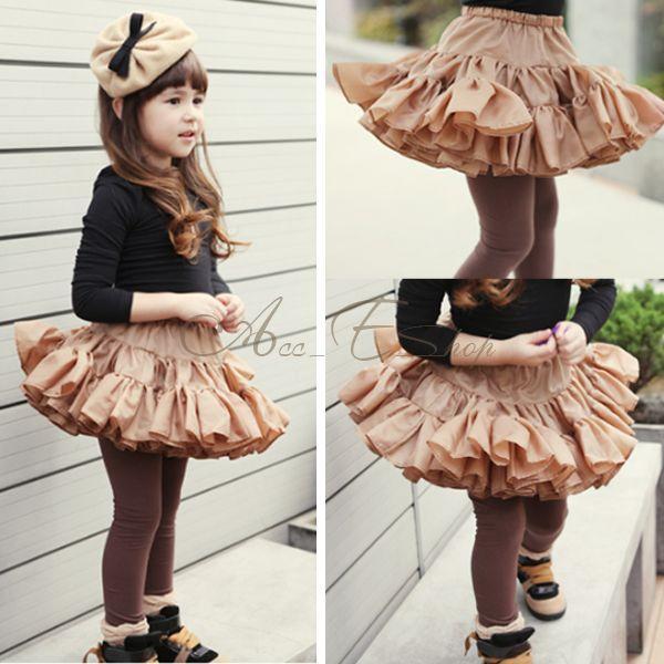 Girl Kid Christmas Birthday Party Dance Tutu Skirt Sz 2 6Y Pageant Dress Costume