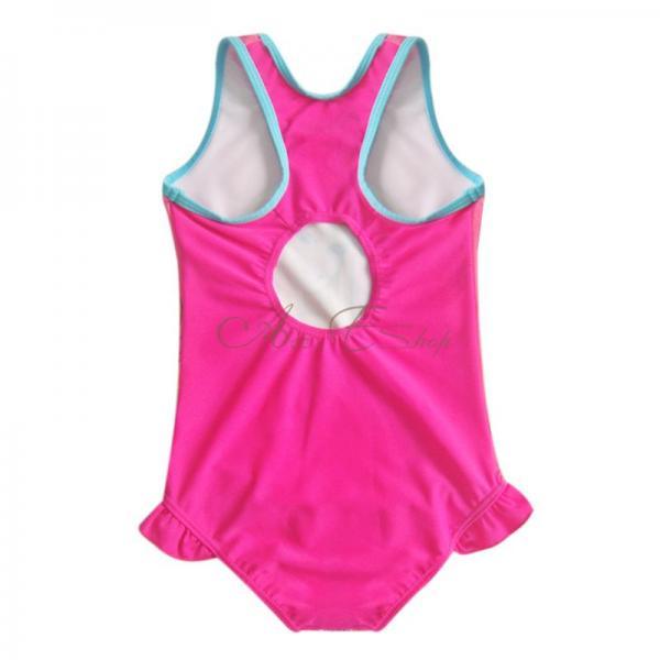 Girl Kid Barbie Swimsuit Swimming Costume Beachwear Bathing Suit Swimwear Sz 3 8