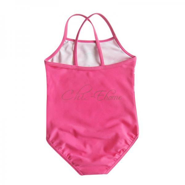Girls Baby Peppa Pig Floral Flower Swimsuit Swimwear Bathing Suit Costume Sz 2 3