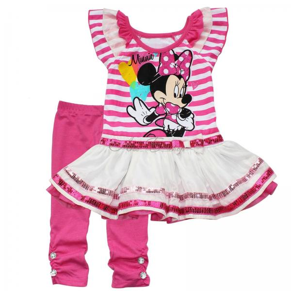 Minnie Mouse Baby Girls Tutu Dress Top Pants Leggings Outfit Toddlers Clothes