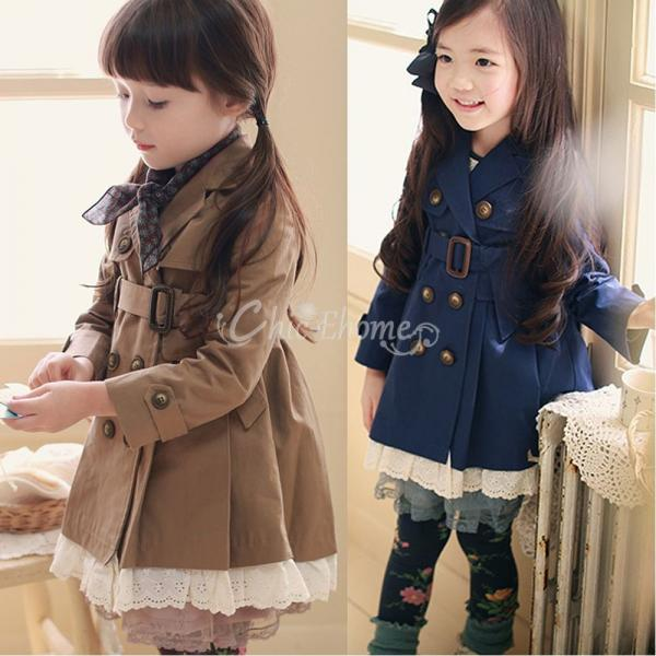 Girl Dress Coats Winter | Down Coat