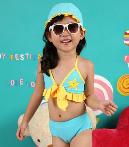 Blue Girl Swimwear Tankini Swimsuit Bikini Bather Sz 3T