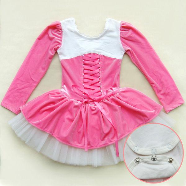 Xmas Girls Birthday Party Dance Leotard Ballet Tutu Dress 3 8Y Costume