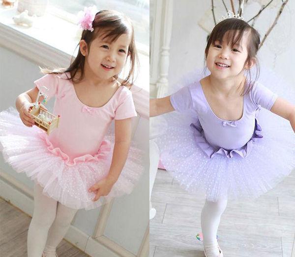 Girl Kid Fairy Ballet Dance Party Leotard Costume Skate Dress Tutu Skirt Sz 3 7