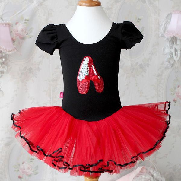 Girl Party Leotard Shoes Ballet Costume Tutu Dress 3 8Y