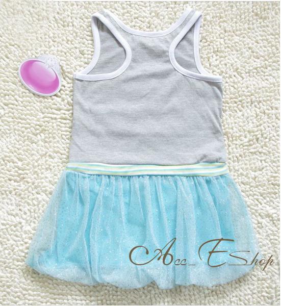 Girls Size 2 7Y Princess Ariel Mermaid Summer Tank Dress Party Tutu Skirt Outfit