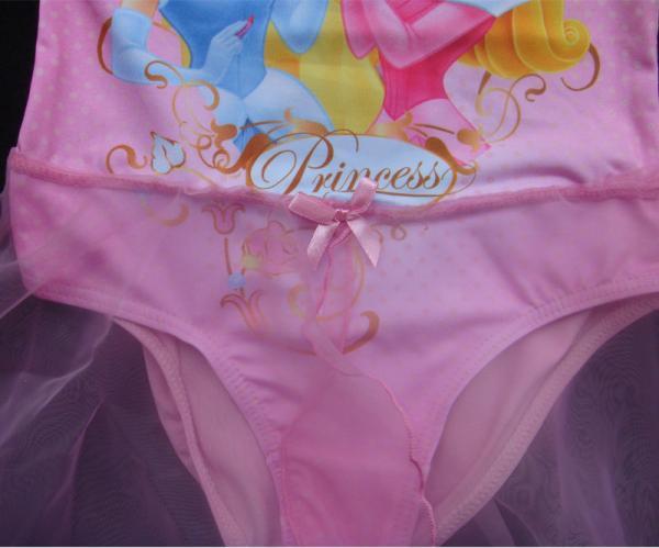 Disney Princess Girl New Gymnastics Leotard Ballet Tutu Skirt Skate Dress 6 8Y