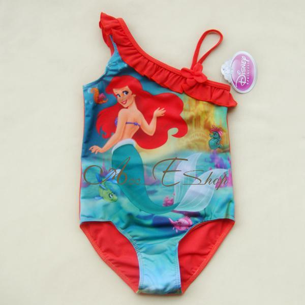 Girl Kids Princess Ariel Mermaid Swimsuit Swimming Costume Tankini Swimwear 2 6Y