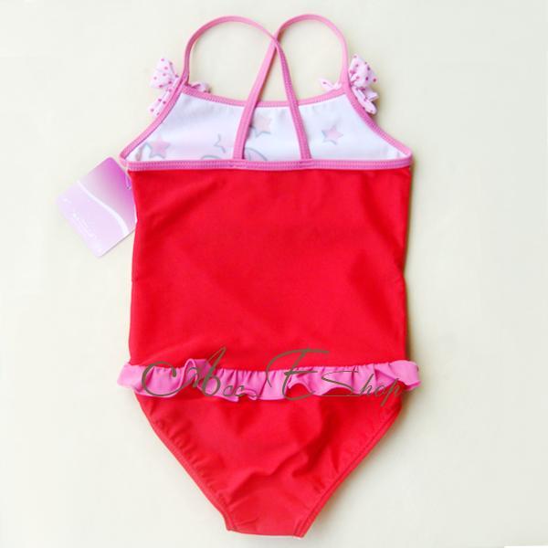 Girls Kids Minnie Mouse Swimsuit Swimming Costume Tankini Bathing Swimwear 2 6Y