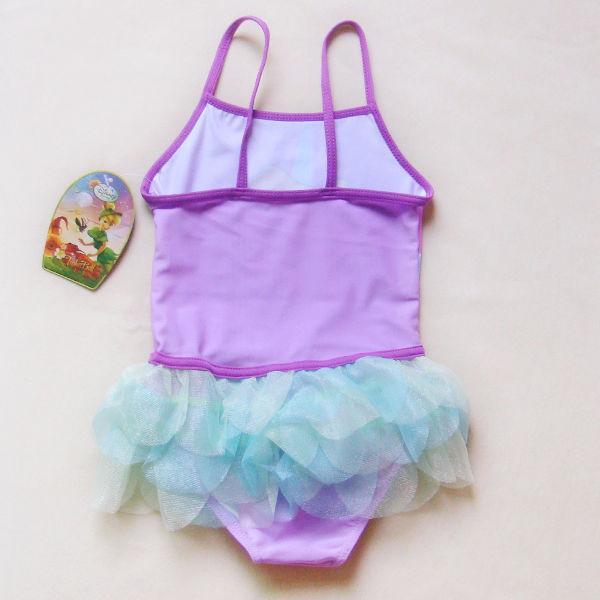 Disney Tinkerbell Girls Baby Tutu Swimsuit Tankini 2 6Y