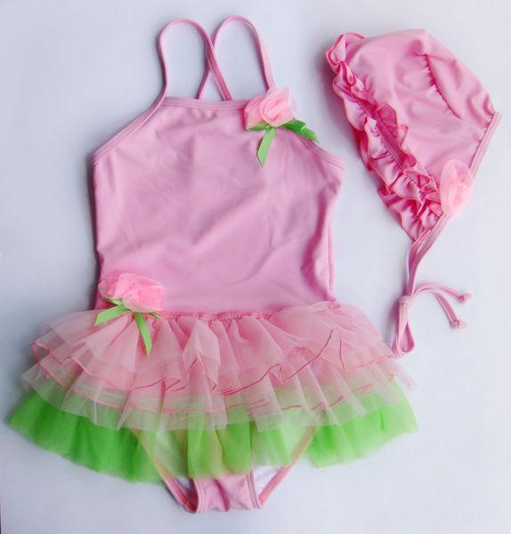 Girl Swimwear Tankini Swimsuit Bikini Bather Sz3 4 6 8T